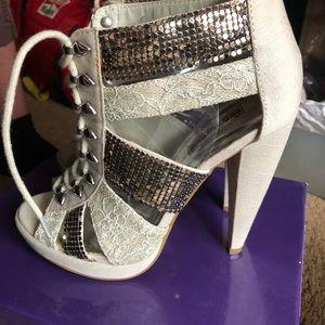 Beautiful lace up heels.